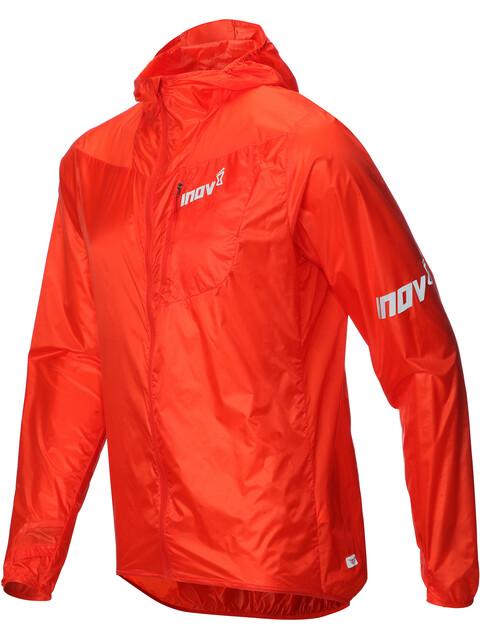 inov-8 Windshell hardloopjas Heren oranje/rood